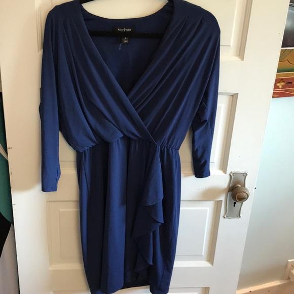 White House Black Market Dresses & Skirts - Blue White House Black Market Dress Size 8